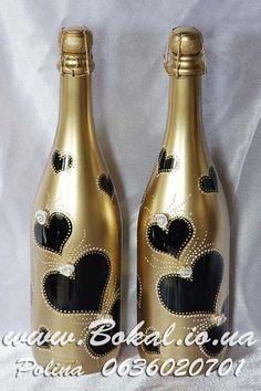 Свадебные аксессуары (Свадебное шампанское, Бокалы, наборы)