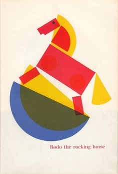 Rodo the rocking horse by Fredun Shapur
