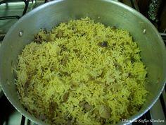 Mushroom Pilau Rice from Muslim Wife Secrets