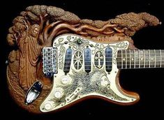17 Creative and Unusual Guitar Designs – DesignSwan.com