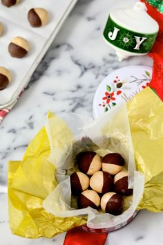 Mom's Peanut Butter Balls + Hallmark #keepsakeit Holiday