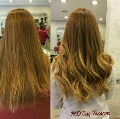 Saçlarınızdaki renk geçişlerini kusursuz hale getirterek çarpıcı bir görünüme kavusabilirsiniz.. #ombre