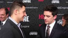 "Vincent Piazza tells #InTheLab host Arthur Kade how his character 'Lucky Luciano' has evolved over 5 seasons on the red carpet for the final season of HBO's ""Boardwalk Empire"""