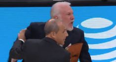 The Highlight: Michael Crabtree's tape job couldn't save his chain, Gregg Popovich gets tossed again, and fans troll Tennessee AD at Monday Night Raw