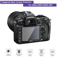 >> Click to Buy << 9H Tempered Glass LCD Screen Protector Real Glass Shield Film For Nikon D300 D300S D90 Camera Accessories #Affiliate