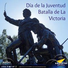 Hoy el pueblo victoriano está de júbilo… se cumplen 201 años de la Batalla de La Victoria, liderada por el gran José Félix Ribas, quien estuvo a cargo de un grupo de valerosos jóvenes que le dieron un golpe a la tiranía. Felicidades al pueblo heroico de #LaVictoria. #DíaDeLaJuventud