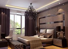Bedroom, Residence Du Commerce Elegant Bedroom Interior 3D Modern Bathroom 3D Bedroom Designer With Exclusive Ideas Luxury Bedroom With Adorable Design Cute ~ Wonderful Bedroom Design That Created By 3D Bedroom Designer