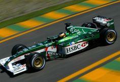 Pedro de la Rosa, Jaguar-Ford R3, 2002 Brazilian GP, Interlagos