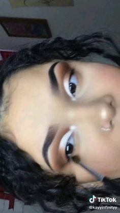 Dope Makeup, Makeup Eye Looks, Crazy Makeup, Doll Eye Makeup, Eye Makeup Art, Beauty Makeup, Makeup Tutorial Eyeliner, Makeup Looks Tutorial, Gorgeous Makeup