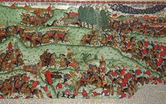 The Battle of Kulikovo Golden Horde, Russian Folk Art, Tempera, 14th Century, Illuminated Manuscript, Medieval, How To Draw Hands, Ink, Painting