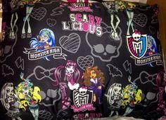 Monster High Full Size Bed Pillow New Bedding Room Decor Bedding | eBay