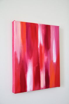 pink and red painting by Sarah Park