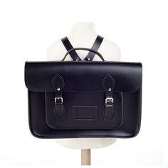 "15"" leather backpack batchel - www.hedgehogshop.co.uk Black Leather Backpack, Kids Fashion, Children Outfits, Satchel, Backpacks, Bags, Dress, Style, Handbags"