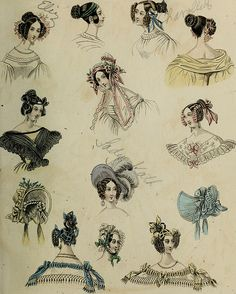 """Image from page 276 of """"The World of fashion and continental feuilletons"""" (1824)…"""