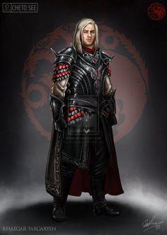 Rhaegar Targaryen by chetosee.deviantart.com on @DeviantArt