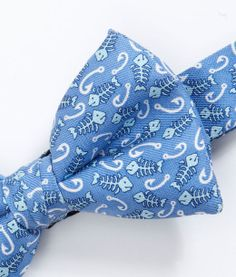 Boys Bow Ties: Fishbone and Hook Bow Tie for Boys – Vineyard Vines