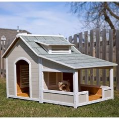 "When you don't mind being in the Doghouse ..""I would live in this!!!! Dog house"""
