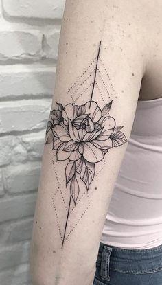 Mini Tattoos, Love Tattoos, Beautiful Tattoos, Body Art Tattoos, Small Tattoos, Tattoos For Women, Tatoos, Future Tattoos, Lotusblume Tattoo