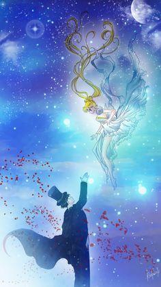 Usagi and Mamoru, Falling Princess