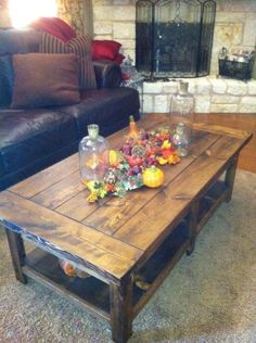 Farmhouse Coffee Table | All About The Home | Pinterest | Squares, Pine And  Farmhouse Coffee Tables