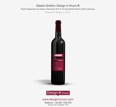 Diseño etiqueta vino Design it Vinum ®  Diseño para Vinos   Packaging   Web  designitvinum.com