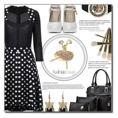 """""""Modern women"""" by fashion-pol ❤ liked on Polyvore featuring Anja, modern and vintage"""