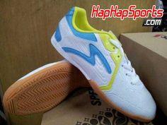 Jual Sepatu Futsal Specs Otagi - Putih / Biru - HapHapSports.com