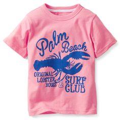 "Playera para Niño Rosa ""Palm Beach"" (2-4 años) Carters - Bebitos"