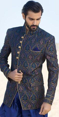 GROOM Fashions❋Laya Padigala❋ Wedding Outfits For Groom, Indian Wedding Outfits, Wedding Men, Wedding Suits, Indian Outfits, Groom Outfit, Groom Attire, Groom Dress, Indian Groom Wear