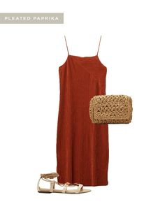 TRENDS EDIT - Pleated Paprika