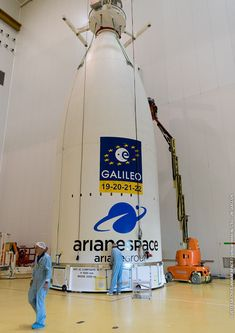 Galileo navigation satellites buttoned up for launch on Ariane 5 rocket – Spaceflight Now