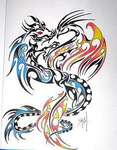 intertwined pheonix tattoo - Google Search