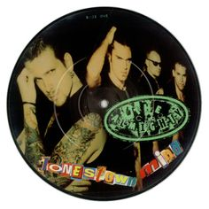 """For Sale - Almighty Jonestown Mind UK  7"""" vinyl picture disc 7 inch picture disc single - See this and 250,000 other rare & vintage vinyl records, singles, LPs & CDs at http://eil.com"""