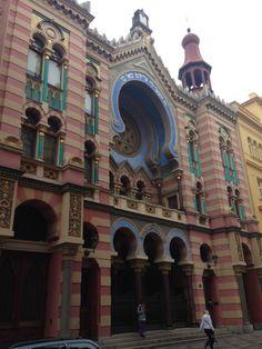 Jeruzalem Synagogue in Prague