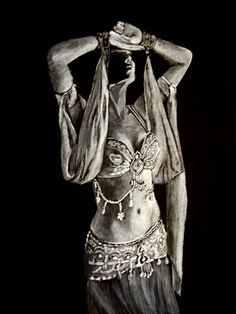 belly dancer by ~ruby007 on deviantART. I chose a belly dancer because in Kubla Khan by Coleridge, there is a sense of orientalism. In the Middle-East belly dancing is a sense of sexual power.
