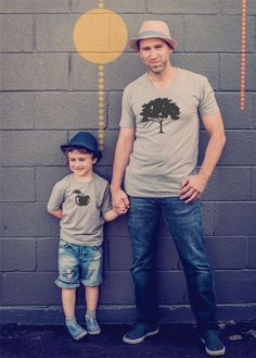family shirts dad and son shirts father son by TheWorkoutPrincess