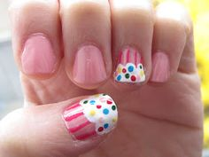 I'm going to do this on my daughter's nails!