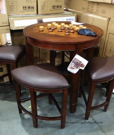 Universal Broadmoore 9-Piece Counter Height Dining Set. #Costco ...