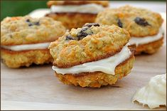 Carrot Cake Cookies from Very Culinary