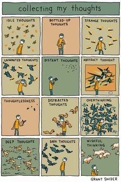INCIDENTAL COMICS: Collecting My Thoughts