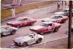 Classic race Cobras, Camaros & AMX