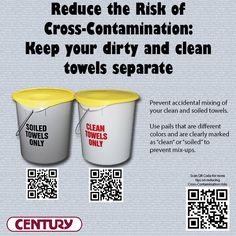 In honor of #FoodSafetyMonth - a simple tip to help reduce cross-contamination in your home or business