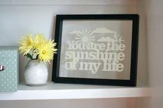 Sunshine papercut