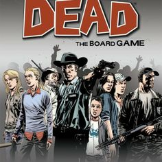 """The Walking Dead: The Board Game from Z-Man Games transforms the Robert Kirkman comic book series into a board game, giving """"fans the opportunity to play Rick, Shane, Andrea, and other favorite The Walking Dead, Walking Dead Prison, Zombies, Zombie Board Game, Zombie News, Zombie Gifts, Best Zombie, Man Games, Family Games"""