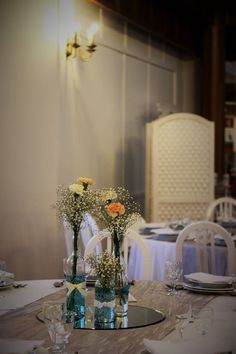 Centros de Mesa/ Wedding Table Decoration