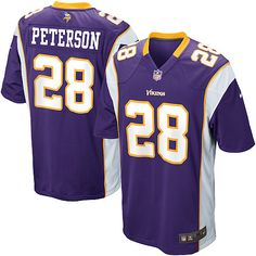 Youth Nike Minnesota Vikings  28 Adrian Peterson Game Team Color Purple  Jersey  59.99 Minnesota Vikings 67786a108