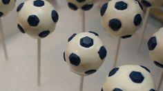 Build Sew Reap: Soccer Birthday Party - Soccer Ball Cake Pops