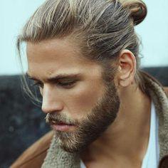 Taglio di capelli uomo legati