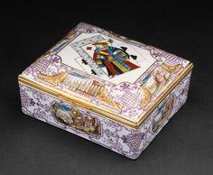 Gaming Set, 1735/40 - Du Paquier Porcelain Manufactory, 1718-1744 - Hard Paste Porcelain -   Austria, Vienna