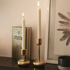 Objects of Design #280: Iittala Nappula Brass Candle Holder - Mad About The House